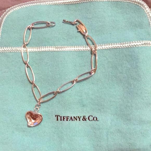 1faa3e4bb Tiffany & Co. Jewelry | Elsa Peretti Carved Heart Bracelet | Poshmark